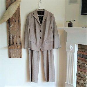 Lafayette 148 New York Linen Wool Pant Suit 18 2X